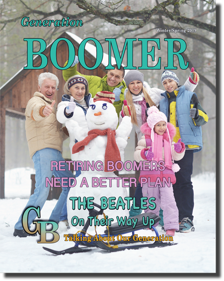Generation Boomer Magazine Current Cover